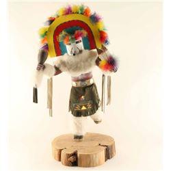 Large Navajo Rainbow Dancer Kachina