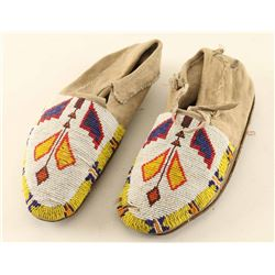 Indian Beaded Moccasins