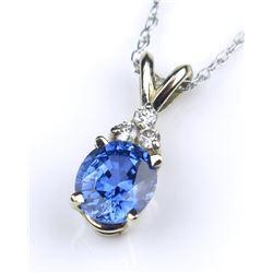 Elegant Fine Ceylon color Blue Sapphire