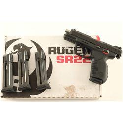 Ruger SR22 .22 LR SN: 367-76077