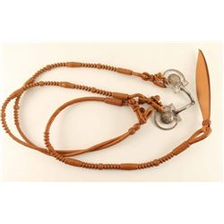 WCTP Snaffle Bit with Reins