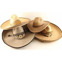 Lot of 4 Vintage Hats