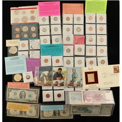 BIG Lot of Dollars & Coins & More
