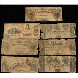 7 Antique Banknotes