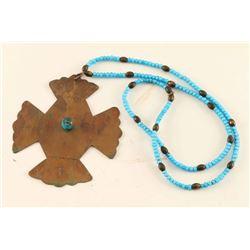 Hudson Bay Cross Necklace