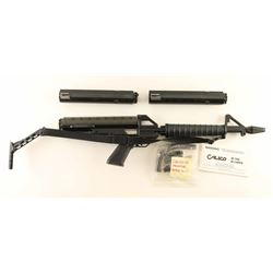 Calico M-100 .22 LR SN: A009923