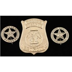 3 Badges Lot