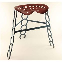 Tractor Seat Horse Shoe Chair