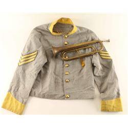 Civil War Repro Jacket & Bugle