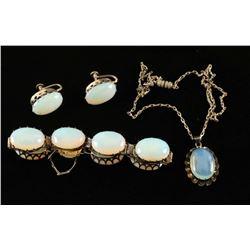 Victorian Costume Jewelry Set