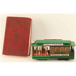 1927 Boy Scout Handbook & Toy Train