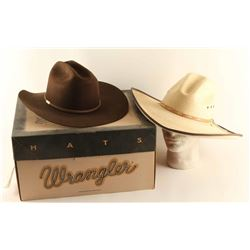 Lot of 2 Cowboy Hats