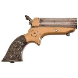 Sharps Pepperbox .22 Derringer