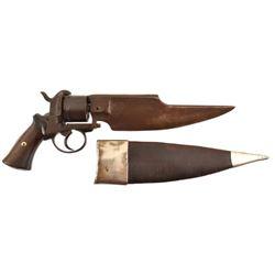DuMonthier Pinfire Knife Pistol