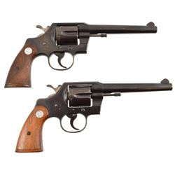 Colt Official Police .38 Consecutive Pair