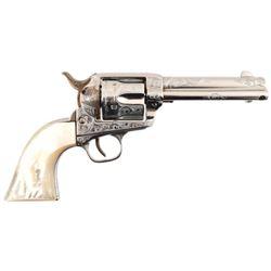 Engraved Colt Model 1873 Single Action .32