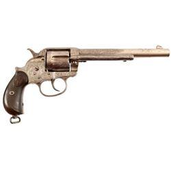 Engraved Colt Model 1878 DA .45