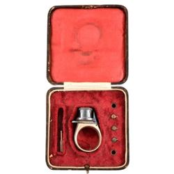 "Cased Ring Pistol ""The Five Aces"""