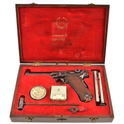 Rare DWM Luger French Contract St Etienne Cased