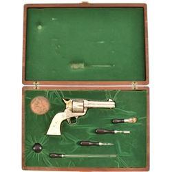 President Batista Engraved Colt SAA Cased .45