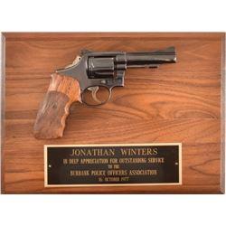 Jonathan Winters Burbank Police Presentation S&W