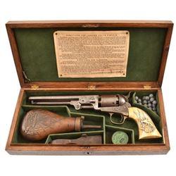 Confederate Colt 1851 Navy Captain Creighton CSA