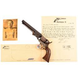 Colt 1849 Clel Miller James Gang Revolver