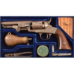 Cased London Pistol Co. Pocket Model Revolver