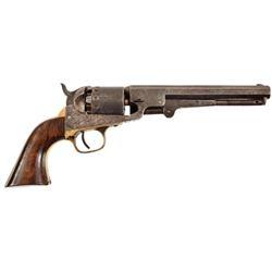 Union Colonel's Engraved Manhattan Revolver