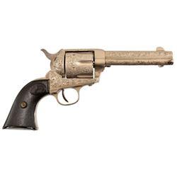 Engraved Colt Model 1873 SAA