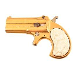 Remington O/U Derringer Ivory Naked Lady Grips