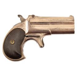 Cased Remington O/U Derringer with Cards & Chips