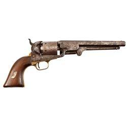 Colt 1851 Navy New Mexico Territory Indian Gun