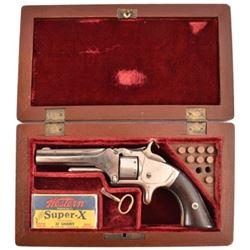 S&W Model 1 .22 Revolver Cased