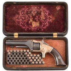 S&W Model 1 Revolver in Bakelite Case .22