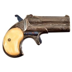 Engraved Remington O/U Derringer .41RF