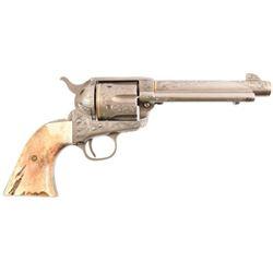Engraved Colt Model 1873 SAA .45