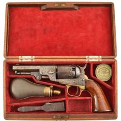 Factory Engraved Manhattan .36 Revolver Cased