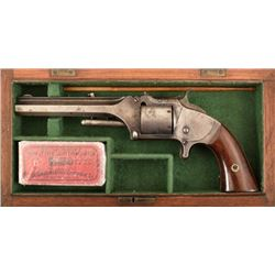 Cased Smith & Wesson Model 2 Army Revolver