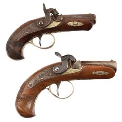 2 Philadelphia Derringers Elmer Keith's Collection