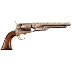 Engraved Colt Model 1860 Army by Rachel Wells