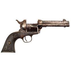 Detonated Colt Model 1873 SAA