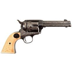Engraved Colt Model 1873 SAA Paris Texas Shipped