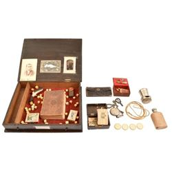 Gambler's Box with Sharps Pepperbox