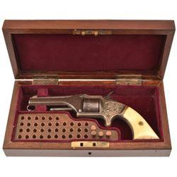 Engraved American Standard .22 Cased