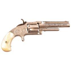 Engraved S&W No. 1 1/2 Revolver