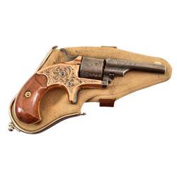 Engraved Colt Open Top .22