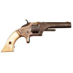 Engraved S&W 1 1/2 Revolver
