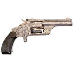 Engraved S&W Revolver