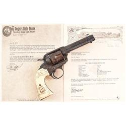 Roy Rogers' Engraved Colt Bisley Single Action .45